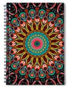 Dotted Wishes No. 4 Mandala Spiral Notebook