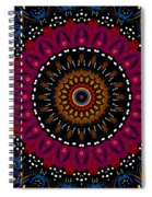 Dotted Wishes No. 5 Kaleidoscope Spiral Notebook
