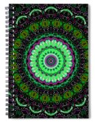 Dotted Wishes No. 6 Kaleidoscope Spiral Notebook