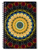 Dotted Wishes No. 6 Mandala Spiral Notebook