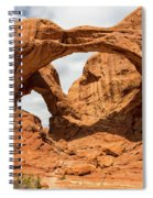 Double Arch - Arches National Park Utah Spiral Notebook