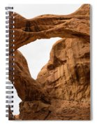 Double Arch Spiral Notebook