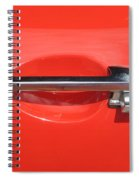 Double Arrow Spiral Notebook