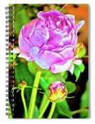 Double Blooms Spiral Notebook