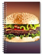 Double Cheeseburger  Spiral Notebook