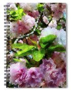 Double Cherry Blossoms Spiral Notebook