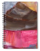 Double Chocolate Cupcake- Art By Linda Woods Spiral Notebook