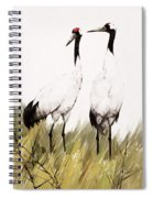 Double Crane Spiral Notebook