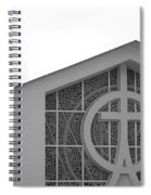 Double Cross Church Spiral Notebook