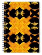 Double Crossed Spiral Notebook