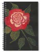 Double Delight Rose Spiral Notebook