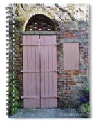 Double Doors And A Window Spiral Notebook