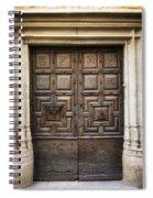 Double Doors Spiral Notebook