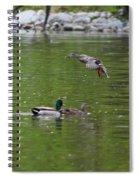 Double Duck Landing Spiral Notebook