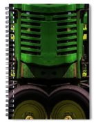 Double Green Machines Spiral Notebook