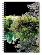 Double Moon Spiral Notebook