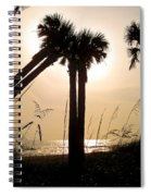 Double Palms Spiral Notebook