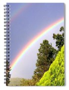 Double Rainbow Spiral Notebook