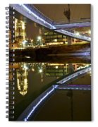 Double Skyline  Spiral Notebook