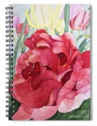 Double Tulip Spiral Notebook