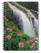 Double Hawaii Waterfall Spiral Notebook