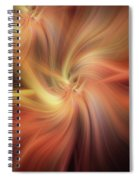 Doubled Vibrations Of Light Spiral Notebook