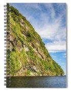 Doubtful Sound Opening To Tasman Sea Spiral Notebook