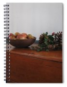 Dough Box Table At Christmas Spiral Notebook