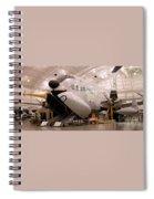 Douglas C 124c Globemaster Plane Spiral Notebook
