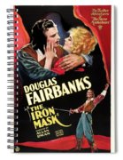 Douglas Fairbanks In The Iron Mask 1929 Spiral Notebook