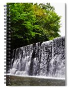 Dove Lake Waterfall Spiral Notebook