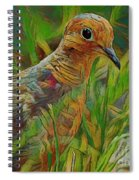 Dove Painterly Spiral Notebook