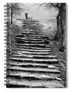 Dovedale Steps Spiral Notebook