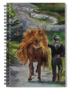 Down A Country Lane Spiral Notebook