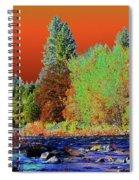 Down Along The Spokane River Spiral Notebook
