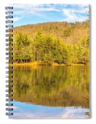 Down By The Lake Spiral Notebook