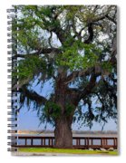Down By The River Side Spiral Notebook