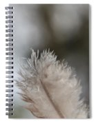 Down Feather Spiral Notebook