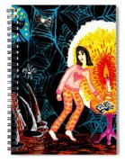 Down In The Cellar Spiral Notebook