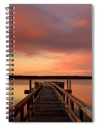 Down The Dock Spiral Notebook