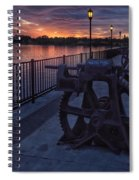 Down The Overholser Dam Spiral Notebook