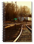 Down The Right Track 2 Spiral Notebook