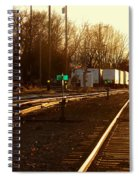 Down The Right Track Spiral Notebook