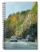 Down The Road On Route 89 Spiral Notebook
