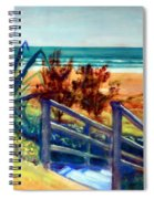Down The Stairs To The Beach Spiral Notebook