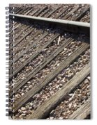 Down The Tracks Spiral Notebook