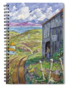 Down To The Fjord Spiral Notebook