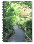 Down To The Garden Spiral Notebook