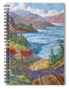 Down To The Lake Spiral Notebook