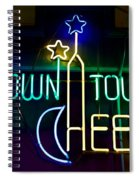Down Town Cheese Spiral Notebook